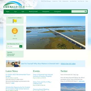 Home - Town of Emerald Isle, North Carolina