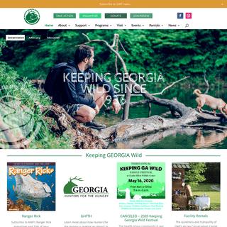Georgia Wildlife Federation - Keeping Georgia Wild for Over 80 Years