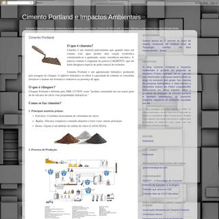 Cimento Portland e Impactos Ambientais