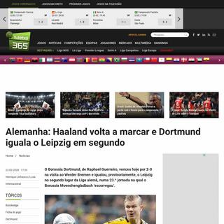 ArchiveBay.com - www.futebol365.pt/artigo/221289-alemanha-haaland-volta-a-marcar-e-dortmund-iguala-o-leipzig-em-segundo/ - Alemanha- Haaland volta a marcar e Dortmund iguala o Leipzig em segundo - Futebol 365