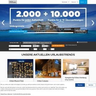Hilton Hotels & Resorts - Hilton Hotel weltweit