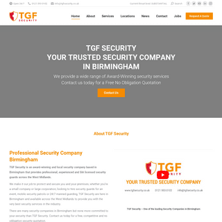 ArchiveBay.com - tgfsecurity.co.uk - TGF Security - Guard Hire - Security Company Birmingham