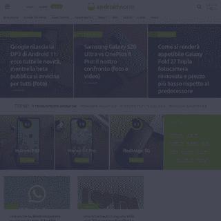 Il primo sito su Android in Italia con Blog e Forum - AndroidWorld
