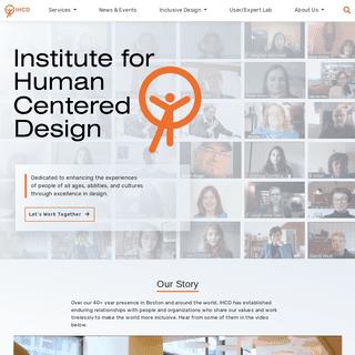 - Institute for Human Centered Design