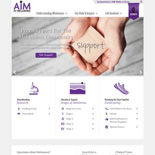 AIM at Melanoma - Reshaping the Future Together