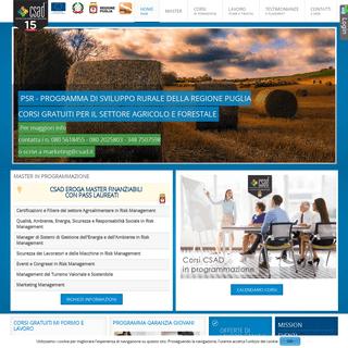 CSAD Centro Studi Ambientali e Direzionali - Mission
