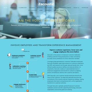Zacoustic - Employee Predictive Analytics - Fill the survey response gap