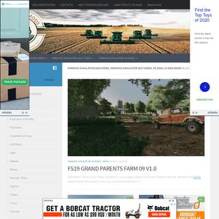 Farming Simulator 2019 mods, Farming Simulator 2017 mods, FS 2019, LS 2019 mods