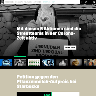 ArchiveBay.com - petazwei.de - PETA ZWEI – Wir. Gemeinsam. Für Tierrechte.