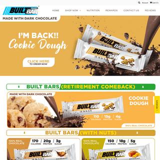 Best Tasting Protein Bars - BuiltBar.com