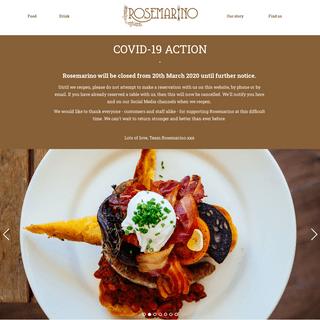 Rosemarino - Italian inspired breakfast, brunch and dinner