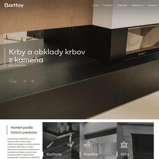 ArchiveBay.com - bartfay.sk - Úvod - Kamenárstvo Bartfay