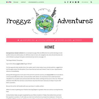 Home - Froggyz Adventures