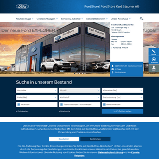 ArchiveBay.com - ford-stauner-cham.de - Karl Stauner AG – Ihr Ford Händler in Cham