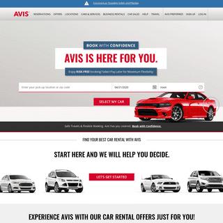 Car Rentals from Avis, Book Online Now & Save - Avis Car Rental - Avis Rent a Car