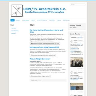Start - www.ukwtv.de - UKW-TV-Arbeitskreis e.V.