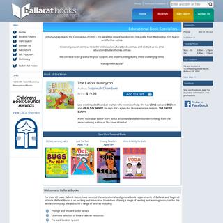Ballarat Books - Educational Book Specialists