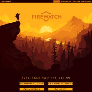 ArchiveBay.com - firewatchgame.com - Campo Santo - Firewatch