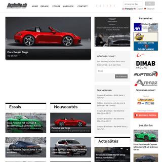 Asphalte.ch – L'automobile passion, l'automobile raison.