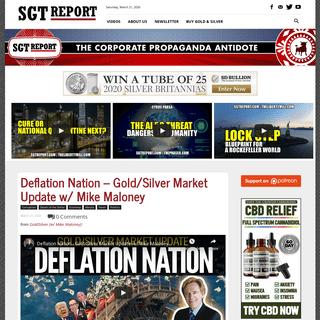 SGT Report - The Corporate Propaganda Antidote