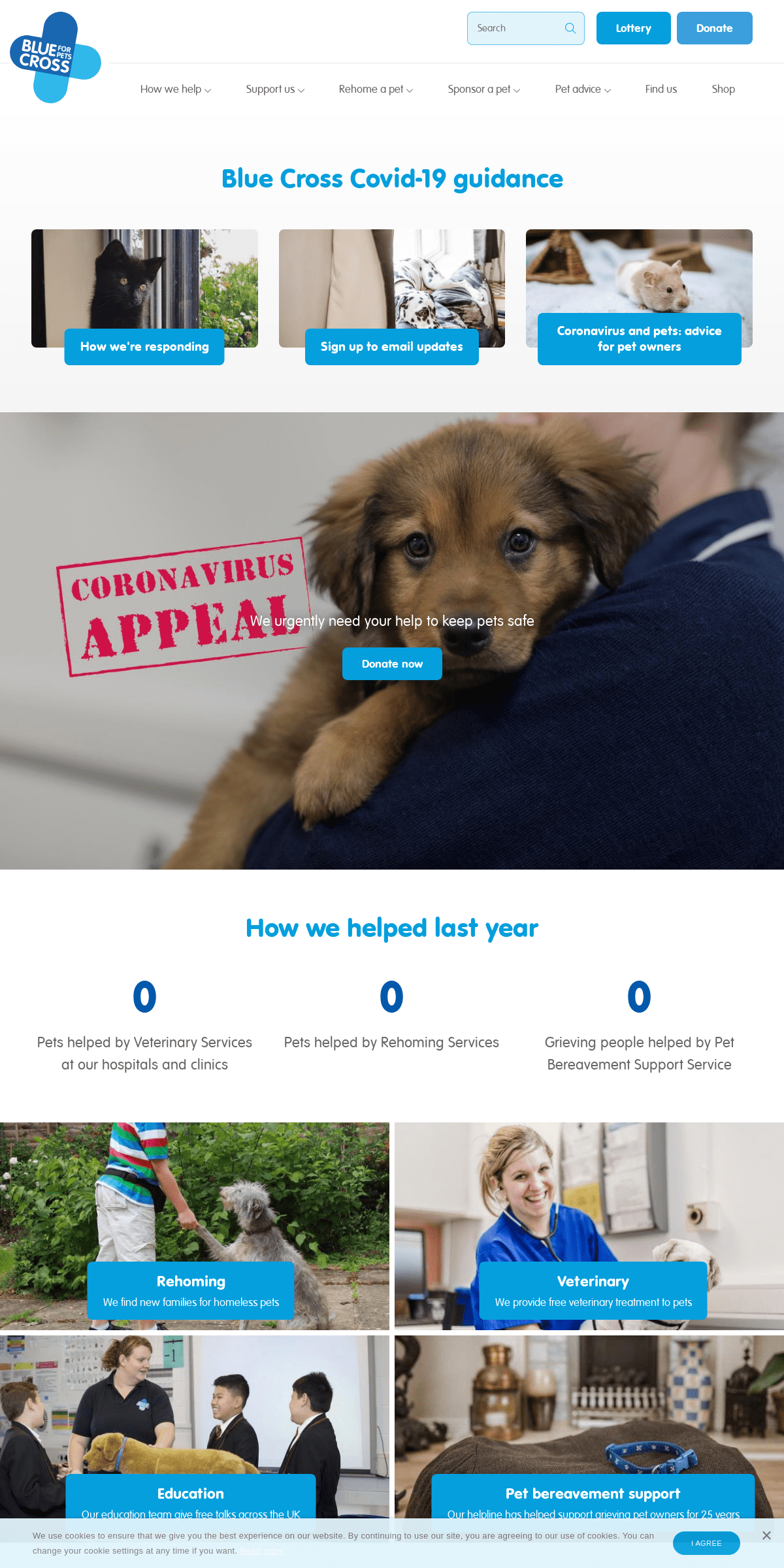 Blue Cross - We've been helping sick, injured and homeless pets in the UK since 1897.
