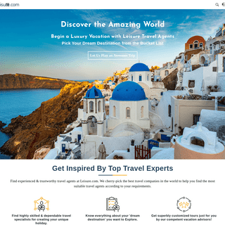Leisure Travel Vacations - Luxury Vacations 2019- Travel + Leisure + Vacation