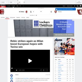 ArchiveBay.com - www.espn.in/football/report?gameId=554353 - AC Milan vs. Torino - Football Match Report - February 18, 2020 - ESPN