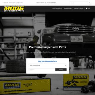 Premium Steering & Suspension Parts - Moog-Suspension-Parts.com