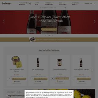 Delikatessen & Feinkost Versand - Dallmayr Online Shop