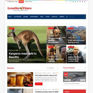 Lesotho Times - Lesotho Times