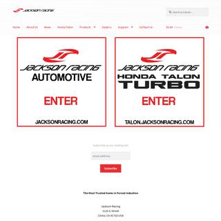 Jackson Racing – Built To Perform