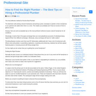 Profeesional-Site