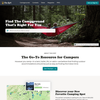 The Dyrt - Find and Review Campgrounds Near Me