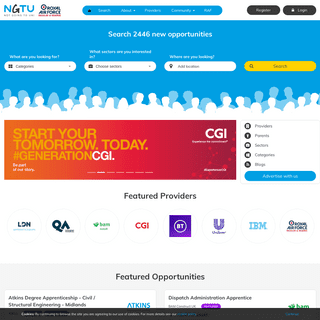 ArchiveBay.com - notgoingtouni.co.uk - Apprenticeships & Debt-Free Education – Find Funded College Courses, Distance Learning and Work Experience in the UK - NGTU