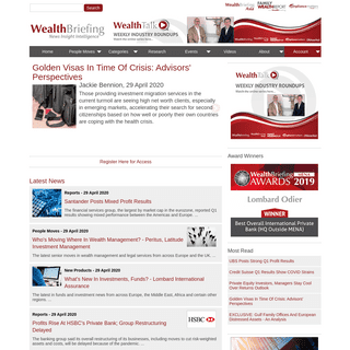ArchiveBay.com - wealthbriefing.com - WealthBriefing - Private Banking News and Wealth Management News and Features