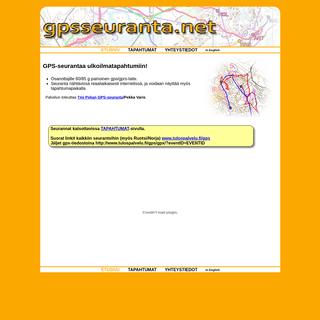GPS-seuranta