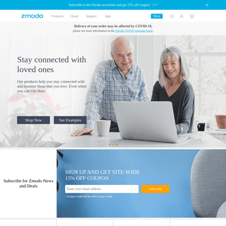 Zmodo - A Global Provider of Security Camera Systems & Smart Home Devices