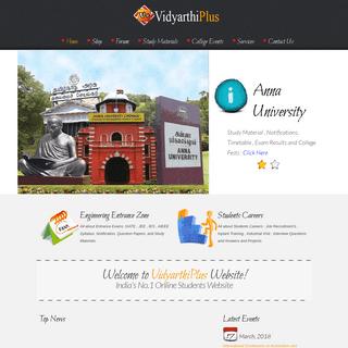 Vidyarthiplus (V+) -- Educational Services