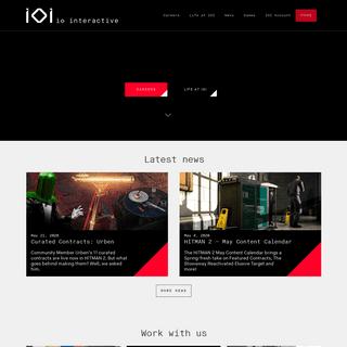 Home - IO Interactive