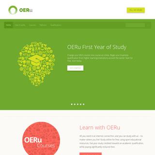 OERu - Free Online Courses For Students Worldwide