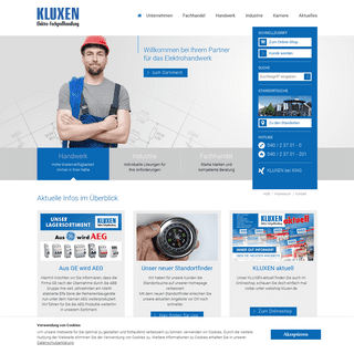 A complete backup of kluxen.de