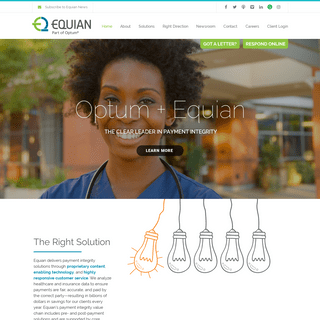 Equian Integrated Payment Integrity Solutions