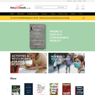 Christian books & bible studies – The Good Book Company