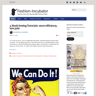 Fashion-Incubator – How to start a clothing line or run the one you have, better.
