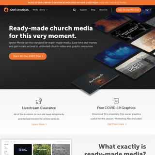 ArchiveBay.com - ignitermedia.com - Igniter Media - The Complete Church Media Resource