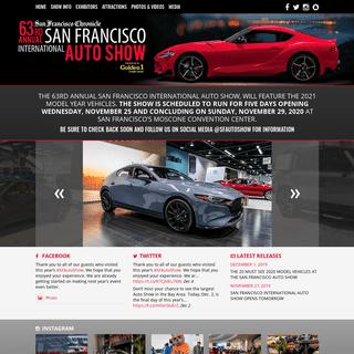 Home - San Francisco Auto ShowSan Francisco Auto Show