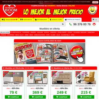 Muebles al mejor precio - Muebles BOOM