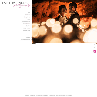 New Mexico Wedding Photographer - Talitha Tarro Photography