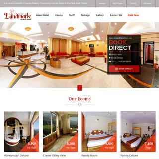 Hotel Landmark Shimla - Hotel Near The Mall Road Shimla