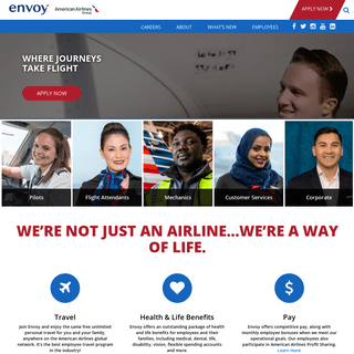 Envoy Air - The largest regional carrier for American Airlines